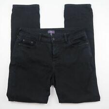 "NYDJ Womens Jeans Size 8 Black 'JADE LEGGINGS"" Lift & Tuck Tech RRP$199.95"