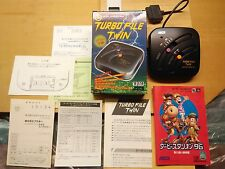 Super Famicom ASCII turbo File Twin 160 KB SRAM-japón NTSC-J OVP cib a 001 aatft