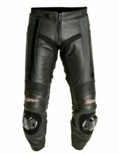 RST BLADE 1115 LEATHER MOTORCYCLE JEANS PANT TROUSER BLACK UK 38 EURO 58
