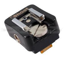 Blitzschuh Adapter Blitzadapter für Canon Nikon Speedlite Blitz Sony NEX Kamera