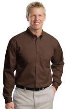 Port Authority Men's Big & Tall Long Sleeve Button Down Dress Shirt. TLS608