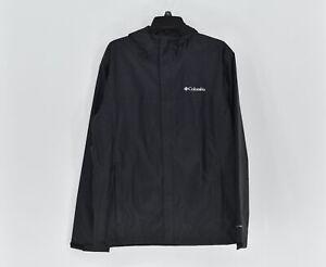 Men's Columbia Watertight II Lightweight Rain Jacket, Black, Size Large