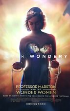 Professor Marston & the Wonder Women Ver A Movie Poster Double Sided 27x40 Orig