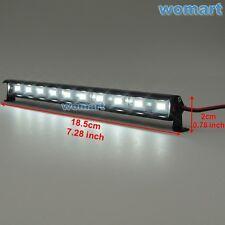 New 1/10 RC Alloy LED Front Light Bar 6~7.4V JR Plug 10 Lights For Crawler Truck