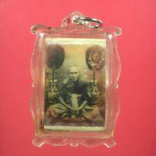 LOCKET PHRA LP GLAN WAT PRAYAT PENDANT HOLY TALISMAN THAI BUDDHA AMULET