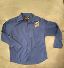 Casual Country Outfitters Blue Long Sleeve Button Men's Large 40x29 R3R1  8565