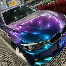 Blau Lila Chameleon Flip Flop Folie Wrapping Auto Blasenfrei Luftkanäle 50*200cm