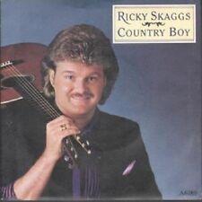 "RICKY SKAGGS - COUNTRY BOY:  7"" VINYL SINGLE (NEW/UNPLAYED) (1985)"