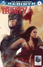 Trinity 15 Variant Superman Batman Wonder Woman Justice League America Movie Nm