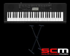 CASIO CTK3500 + STAND DIGITAL PORTABLE ELECTRONIC KEYBOARD W/ ADAPTOR
