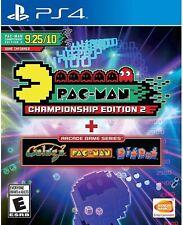 PLAYSTATION 4 PS4 GAME PAC-MAN CHAMPIONSHIP EDITION 2 + ARCADE NEW