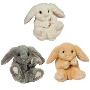 Lil Handful Bunny Family 3 Bunnies Douglas Cuddle Toys Plush 15cm