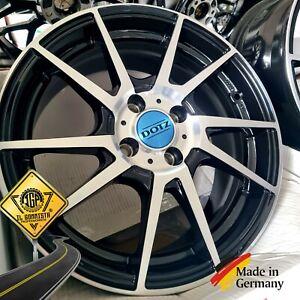 Dotz Kendo KIT 4 CERCHI IN LEGA 16 x ALFA MITO FIAT 500 PUNTO LANCIA Y DELTA +++
