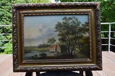 Huile sur panneau d'Hermanus Donselaer (1761-1829)