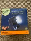 Pumpkin Hollow Halloween Strobe Light with Thunder Sound Effects NIB
