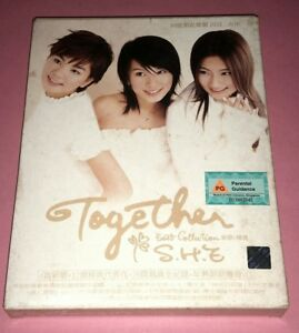 S.H.E. 女朋友: TOGETHER BEST COLLECTION 新歌+精选 (2003/SINGAPORE)   CD+VCD