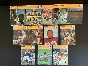 1977-79 Huge Large Collection Lot 50+ Sportscaster NFL Football Cards