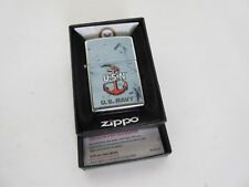 Original Zippo US Navy USN Anker Anchor Army Seals Marines Vietnam WK2 WWII WW2