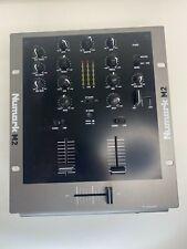 NUMARK M2 10-INCH PROFESSIONAL DJ MIXER - Tested