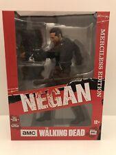 "Walking Dead Negan 10"" Deluxe Merciless Edition Figure McFarlane"