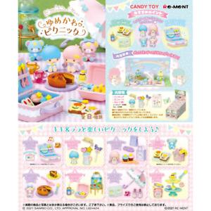 Re-Ment Miniature Sanrio Little Twin Stars Dreamy Cute Picnic Full set Pre-order