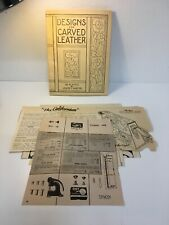 Designs for Carved Leather Louise C Hoefer 1948, with extra designs.