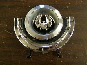 OEM 1968 Chrysler Imperial Fuel Door Assembly Ornament Emblem Gas Lid nos