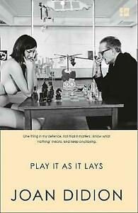 Play It As It Lays, Didion, Joan,  Paperback