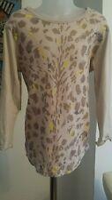 Stella McCartney Girls Long Sleeve Animal Print T-Shirt Size 10 Years Immaculate