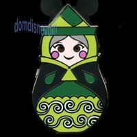 Disney Pin *Nesting Dolls* w/ Icons Mystery Series - Fairy Fauna w/ Green Dress!