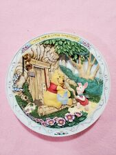 """""""Time for a Little Something"""": Winnie The Pooh 3D Plate/Bradford Exchange"""