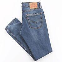 Vintage LEVI'S 511 Blue Denim Slim Straight Jeans Mens W31 L32