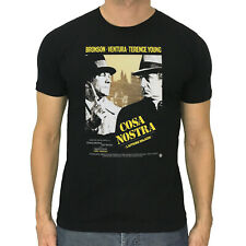 COSA NOSTRA t-shirt The Valachi Papers cult movie poster Charles Bronson S to 5X