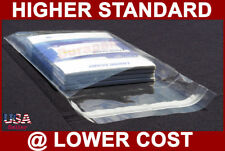 """1000~ 5x7"""" Self Seal Adhesive Resealable Cello Crystal Clear Photo Card Bags"""