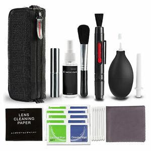 10 Profi Reinigungsset Kit für DSLR Nikon Canon Sony Kamera Objektiv PC Tastatur