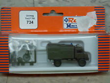 (NEW) 1/87 Roco Minitanks Modern West German Unimog TroLF 750 Fire Lot #1917