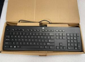 New Genuine HP 803181-001 Slim Black USB 2.0 Windows Keyboard
