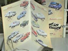 CATALOGUE DETAILCARS 1/43 1999 : FORD, ALFA, BMW, BRITISH & GERMAN SPORTS CARS
