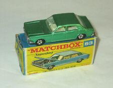 Matchbox 53 Ford Zodiac Superfast MK IV Gloss GREEN Boxed