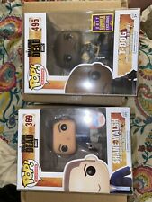 Lot Of 2 Vintage Walking Dead Funko Pops New In Box Condition As Shown