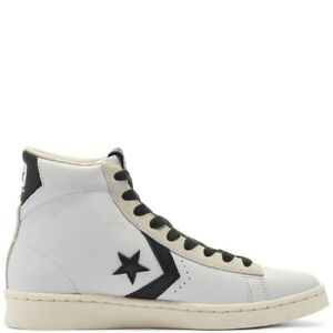 Converse Pro Leather Double Logo High Top white/black