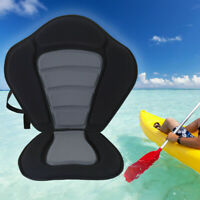 Deluxe Kayak Seat Adjustable Sit On Top Canoe Back Rest Support Cushion Pad EVA
