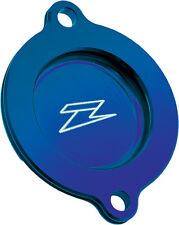 ZETA OIL FILTER COVER (BLUE) Fits: Yamaha WR250R,WR250X
