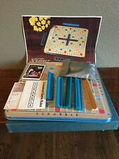 Scrabble Deluxe Turntable Edition 1977 Selchow & Righter Vintage Made in USA #71