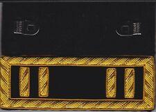 Civil War Staff Captain Dark Blue Regulation Shoulder Boards -Straps & Free Coin