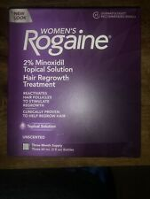 New Rogaine Womens Unscented Topical  Supply EXP 01/21 And Better