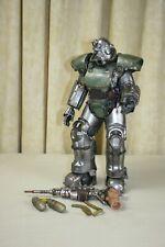 "Threezero FALLOUT 4 T-51 Power Armor ~ 14.25"" Action Figure ~ NO BOX"
