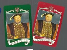 WORSHIPFUL1991 PLAYING CARDS 2x SINGLE   500TH ANN OF BIRTH OF  HENRY  V111  #5