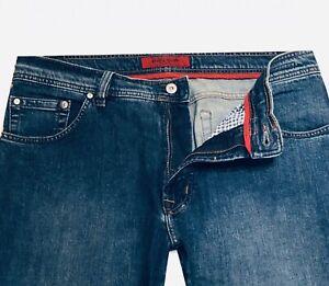 Pierre Cardin Deauville Jeans W36/L34 Herren 3196-7170/37 Stretch Blau Original