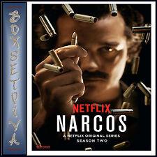 NARCOS - COMPLETE SEASON 2 -  SECOND SEASON *BRAND NEW DVD***